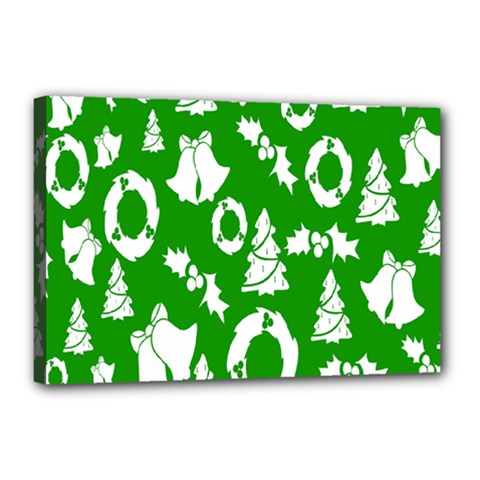 Backdrop Background Card Christmas Canvas 18  x 12