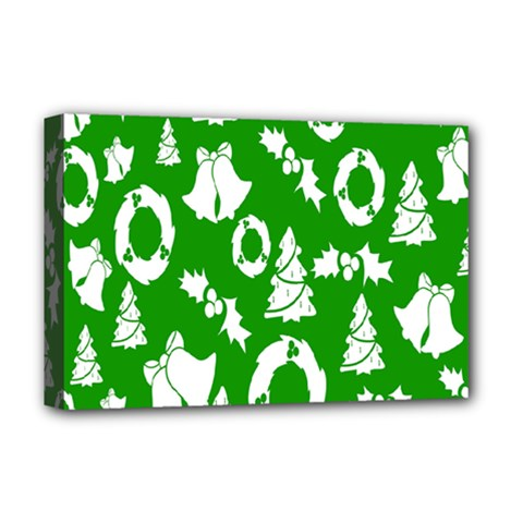Backdrop Background Card Christmas Deluxe Canvas 18  x 12