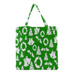 Backdrop Background Card Christmas Grocery Tote Bag