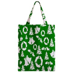 Backdrop Background Card Christmas Zipper Classic Tote Bag