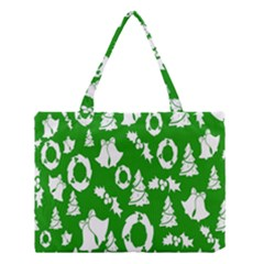 Backdrop Background Card Christmas Medium Tote Bag