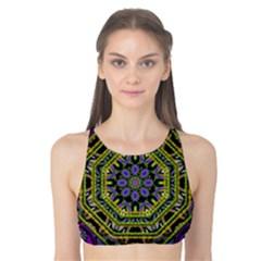 Wonderful Peace Flower Mandala Tank Bikini Top