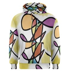 Art Abstract Exhibition Colours Men s Pullover Hoodie