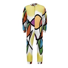 Art Abstract Exhibition Colours OnePiece Jumpsuit (Kids)