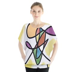 Art Abstract Exhibition Colours Blouse