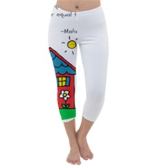 No School Greater... Capri Winter Leggings