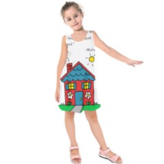 No School Greater... Kids  Sleeveless Dress