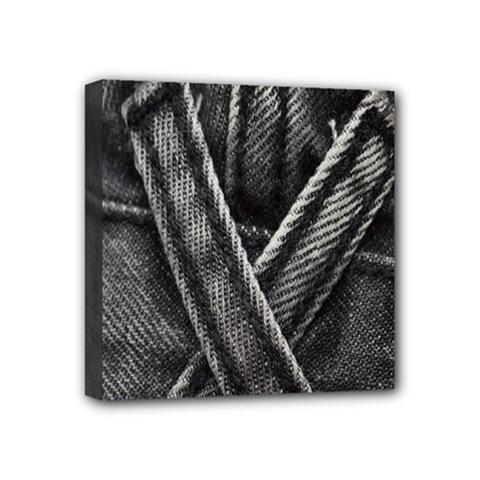 Backdrop Belt Black Casual Closeup Mini Canvas 4  x 4