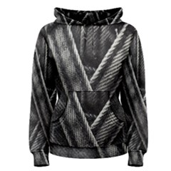 Backdrop Belt Black Casual Closeup Women s Pullover Hoodie