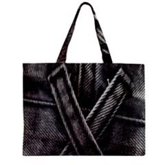 Backdrop Belt Black Casual Closeup Zipper Mini Tote Bag