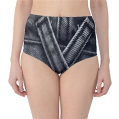 Backdrop Belt Black Casual Closeup High-Waist Bikini Bottoms