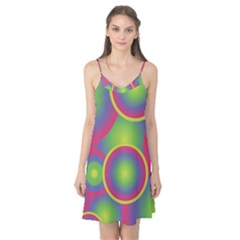 Background Colourful Circles Camis Nightgown