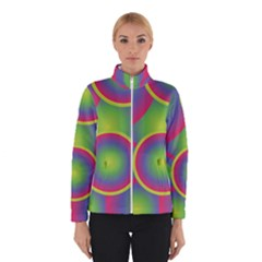 Background Colourful Circles Winterwear