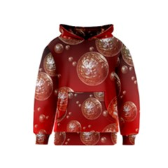 Background Red Blow Balls Deco Kids  Pullover Hoodie