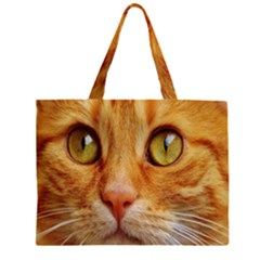 Cat Red Cute Mackerel Tiger Sweet Large Tote Bag