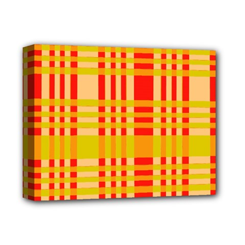 Check Pattern Deluxe Canvas 14  x 11