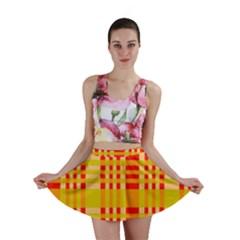 Check Pattern Mini Skirt