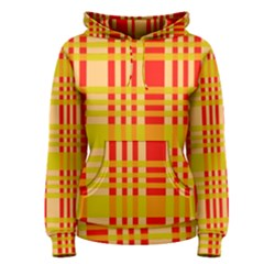 Check Pattern Women s Pullover Hoodie