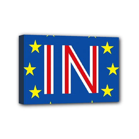 Britain Eu Remain Mini Canvas 6  x 4