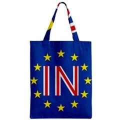 Britain Eu Remain Zipper Classic Tote Bag