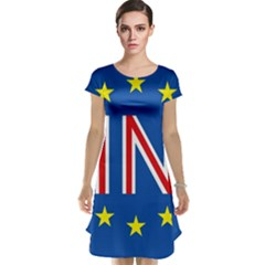 Britain Eu Remain Cap Sleeve Nightdress
