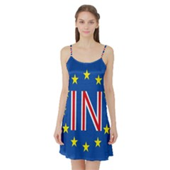 Britain Eu Remain Satin Night Slip