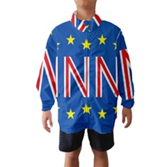 Britain Eu Remain Wind Breaker (kids)