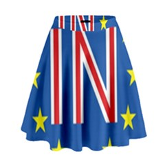 Britain Eu Remain High Waist Skirt