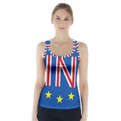 Britain Eu Remain Racer Back Sports Top