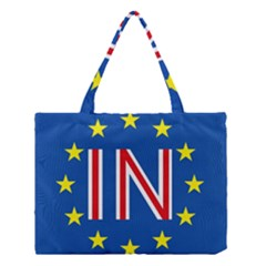 Britain Eu Remain Medium Tote Bag