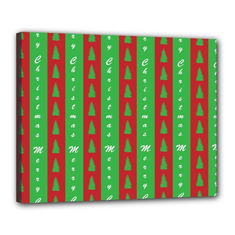 Christmas Tree Background Canvas 20  x 16