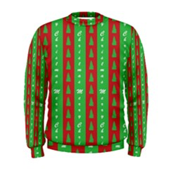 Christmas Tree Background Men s Sweatshirt