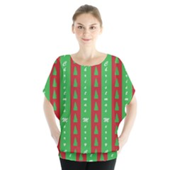 Christmas Tree Background Blouse