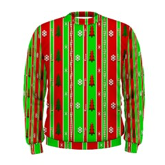 Christmas Paper Pattern Men s Sweatshirt