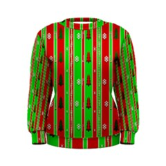 Christmas Paper Pattern Women s Sweatshirt