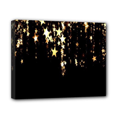 Christmas Star Advent Background Canvas 10  x 8