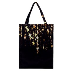 Christmas Star Advent Background Classic Tote Bag