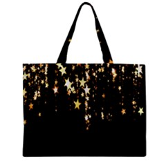 Christmas Star Advent Background Zipper Mini Tote Bag