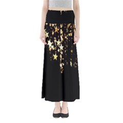 Christmas Star Advent Background Maxi Skirts