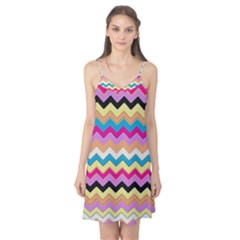 Chevrons Pattern Art Background Camis Nightgown