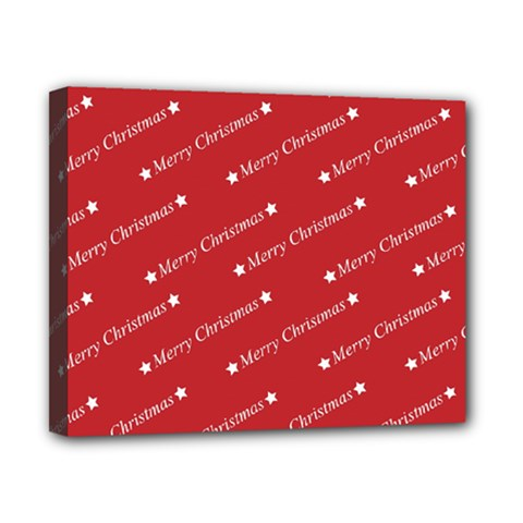 Christmas Paper Background Greeting Canvas 10  x 8