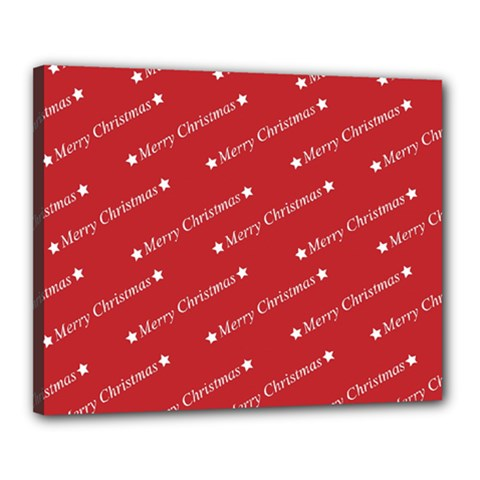 Christmas Paper Background Greeting Canvas 20  x 16