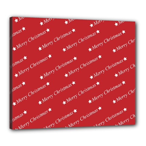 Christmas Paper Background Greeting Canvas 24  x 20