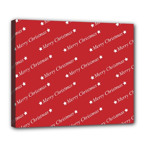 Christmas Paper Background Greeting Deluxe Canvas 24  x 20