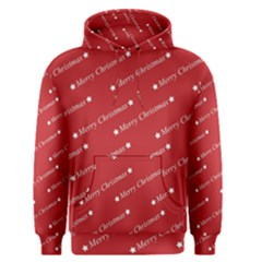 Christmas Paper Background Greeting Men s Pullover Hoodie