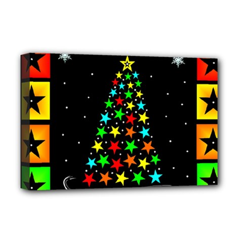 Christmas Time Deluxe Canvas 18  x 12