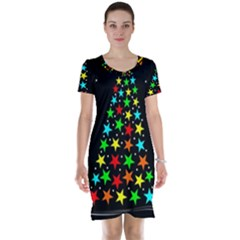 Christmas Time Short Sleeve Nightdress