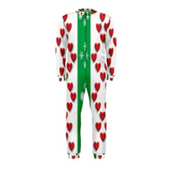 Christmas Snowflakes Christmas Trees Onepiece Jumpsuit (kids)