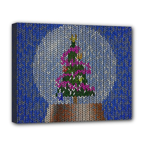 Christmas Snow Deluxe Canvas 20  x 16