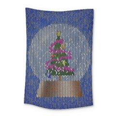 Christmas Snow Small Tapestry
